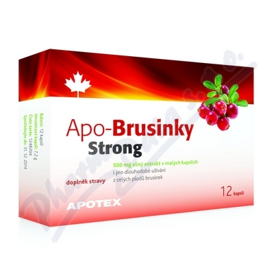 Obrázek APO-Brusinky Strong 500mg cps.12