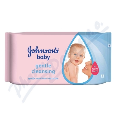 Obrázek JOHNSON Baby wipes Gentle Cleansing 56ks