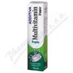 Additiva multivitamín tbl.eff.20 tropic