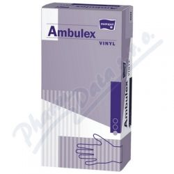 Ambulex Vinyl rukavice pudr.M 100ks