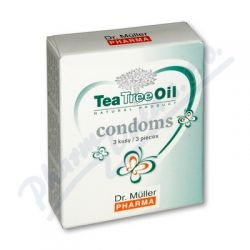 DR.MULLER Tea Tree Oil kondomy 3ks