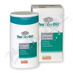 DR.MULLER Tea tree oil šampon lupy 200ml