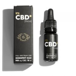 CBD Star CBD olej Focus 9% 10 ml