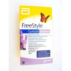 FreeStyle Optium beta-ketone 10ks