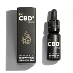 CBD Star CBD olej Natural 9% 10 ml