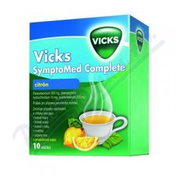 Vicks SymptoMed compl.citrón.por.plv.10