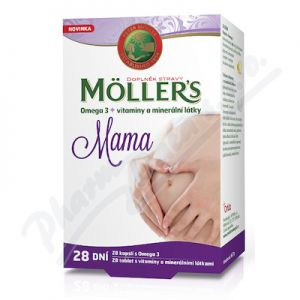 Obrázek Mollers Mama Omega3 cps.28 56tbl.