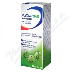 Obrázek Muconatural complete sirup 120ml