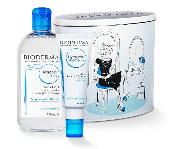 Obrázek Bioderma Hydrabio Gel-Créme 40 ml + micelární H2O 500ml DÁRKOVÉ BALENÍ