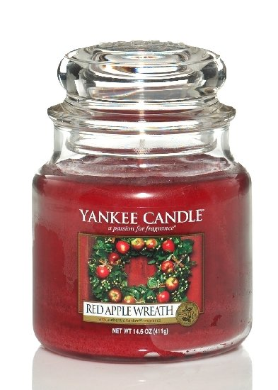 Obrázek Yankee Candle Red Apple Wreath 411 g